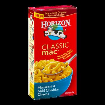 Horizon Classic Macaroni & Mild Cheddar Cheese