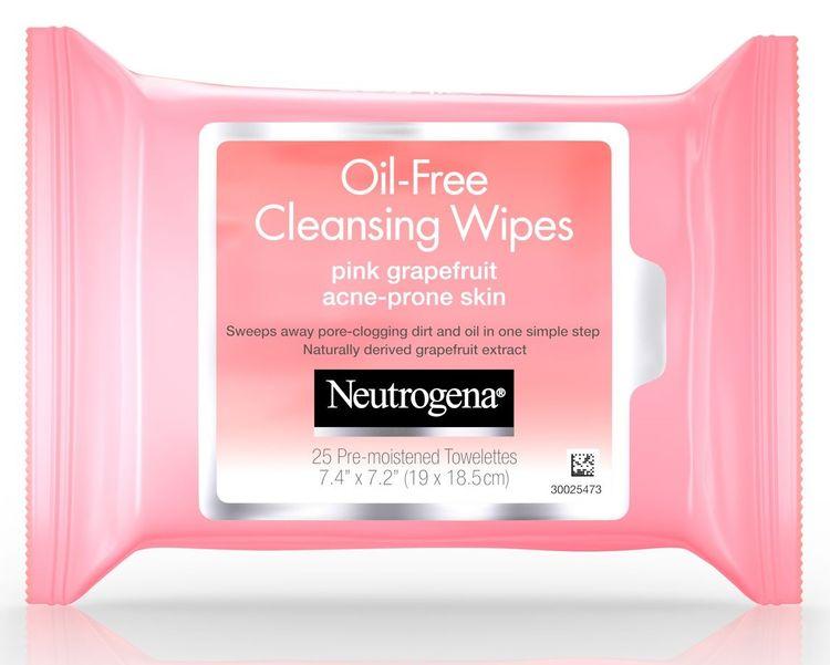 Neutrogena® Oil-Free Cleansing Wipes Pink Grapefruit