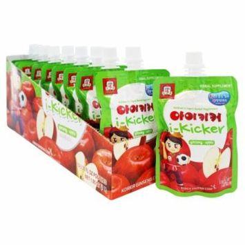 Korean Ginseng - i-Kicker Children's Liquid Herbal Supplement Apple - 10 Pouches