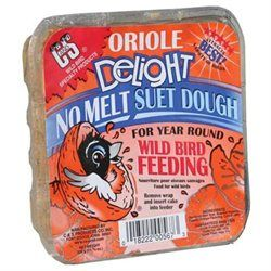 C & S Products Oriole Delight Wild Bird Suet 11.75 oz.