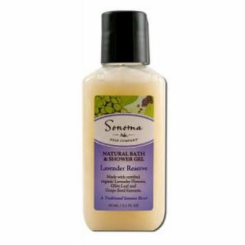 Sonoma Soap - Bath & Shower Gel, Lavender Reserve 2.1 oz