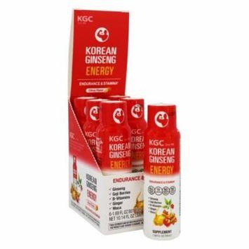 Korean Ginseng - Korean Red Ginseng Shot Energy Citrus - 1.69 oz.