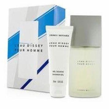 Issey Miyake Coffret: Eau De Toilette Spray 75ml/2.5oz + Shower Gel 75ml/2.5oz For Men