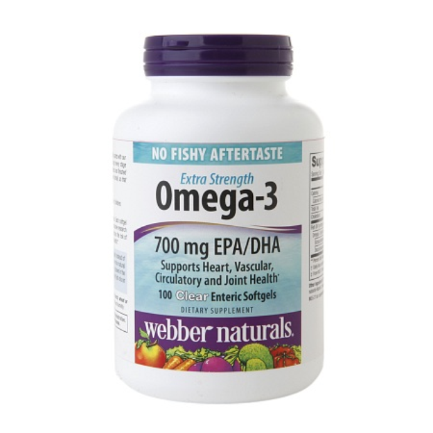 Webber Naturals Extra Strength Omega-3 700mg, Softgels