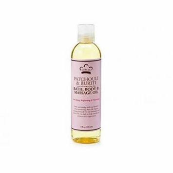 Patchouli & Buriti Bath, Body, and Massage Oil 8 Ounces