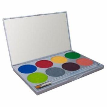 (6 Pack) mehron Paradise Makeup AQ - 8 Color Palette - Tropical
