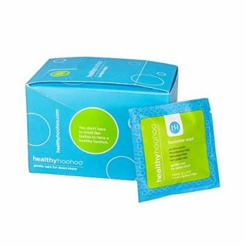 healthy hoohoo All Natural Gentle Femine Wipes Individually Wrapped (Pack of 20)
