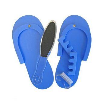 Aquasentials / Aquabella Spa Pedicure Slippers Set