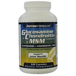 Jarrow Formulas - Glucosamine Chondroitin MSM - 240 Capsules