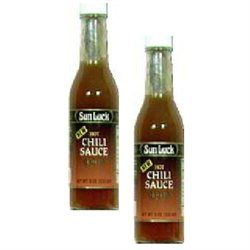 Sun Luck BG18637 Sun Luck Hot Chili Sauce - 6x11.5OZ