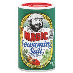 Chef Paul Prudhomme's Magic Seasoning Salt New Orleans Blend - 7 oz