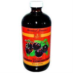 Bernard Jensen Products Black Cherry Concentrate - 16 Fluid Ounces Liquid - Other Green / Super Foods