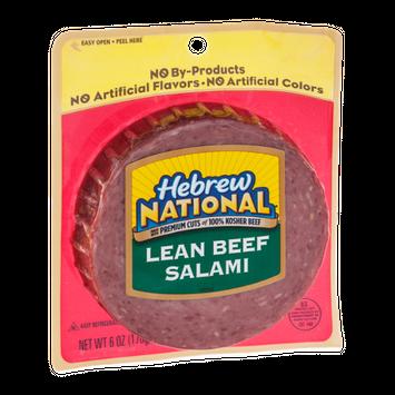 Hebrew National Lean Beef Salami