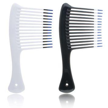 Hot Waves Jumbo Shampoo Rake Model No. 0651T (Assorted Colors)