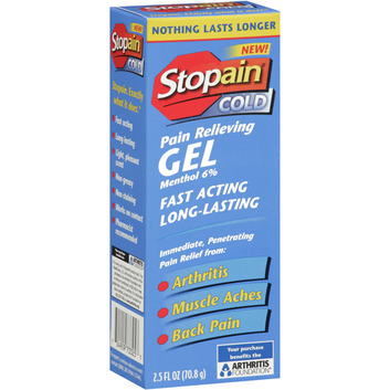 StoPain Cold Gel Pain Relief