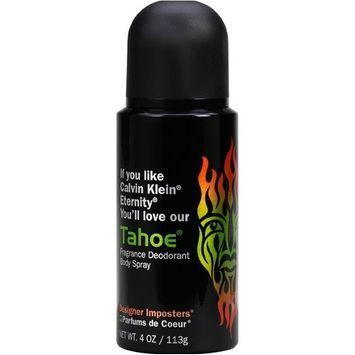 Designer Imposter Tahoe For Men 4oz oz Deodorant Body Spray