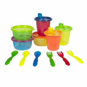 The First Years Take & Toss 12 Piece Multi-Pack