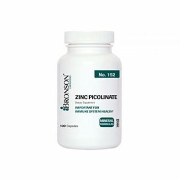 Bronson Labs: Zinc Picolinate 30 mg, 100 capsules