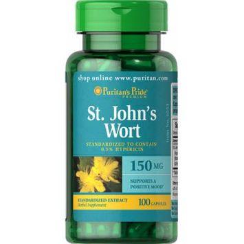 Puritan's Pride St. John's Wort Standardized Extract 150 mg-100 Capsules