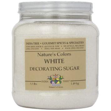 3M India Tree Frost White Decorating Sugar, 3.3 Pound