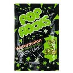 Pop Rocks, Inc. Pop Rocks Watermelon .33 Oz(Case of 24)