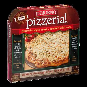 DiGiorno Pizzeria! Four Cheese Pizza