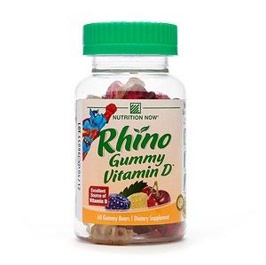 Nutrition Now Rhino Gummy Vitamin D