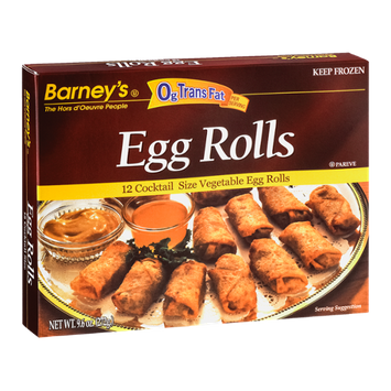 Barney's Egg Rolls - 12 CT