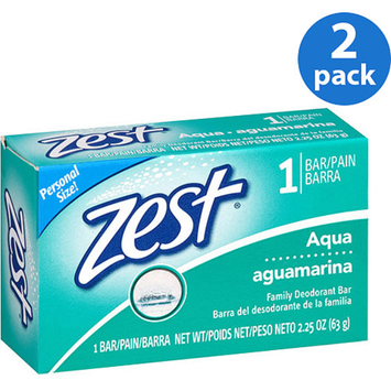 Zest Aqua Bar Soap, 2.25 oz 2 pack