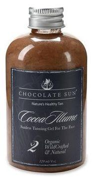 Chocolate Sun Cocoa Illume Tanning Face Gel