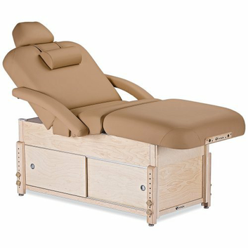 EarthLite Sedona Salon Stationary Massage Table with Cabinet