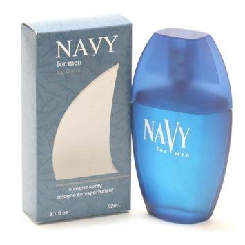 Navy For NAVY by Dana Cologne Spray 3.1 oz for Men