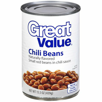 Great Value :  Chili Beans