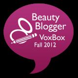 Beauty Blogger '12