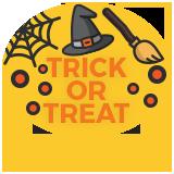 Trick or Treat Badge