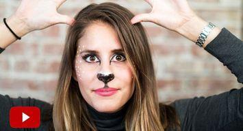 5 Minute Halloween Tutorial: The Doe!