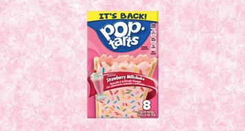 Strawberry Milkshake Pop-Tarts are Returning