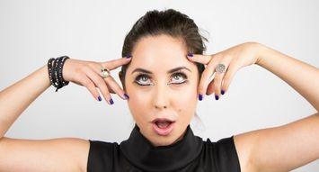 15-Minute Halloween Eye Makeup: Twiggy