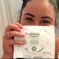 Simple® Micellar Makeup Remover Wipes uploaded by Colette O.