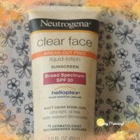 Neutrogena® Clear Face Break-Out Free Liquid Lotion Sunscreen Broad Spectrum SPF 30 uploaded by Darby S.