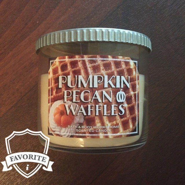 Bath & Body Works® PUMPKIN PECAN WAFFLES 3-Wick Candle