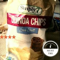 Simply 7 Quinoa Chips Sea Salt Flavor uploaded by Christina M.