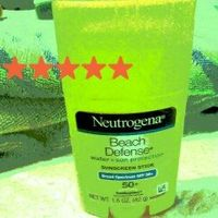 Neutrogena® Beach Defense® Water + Sun Protection Sunscreen Stick Broad Spectrum SPF 50+ uploaded by Lisa M.