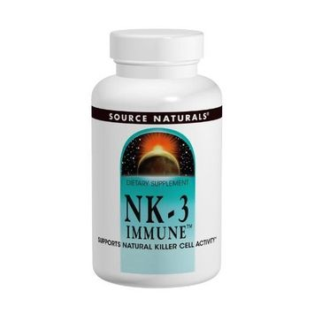 Source Naturals NK-3 Immune with Vitamin C 250mg, 60 Capsules