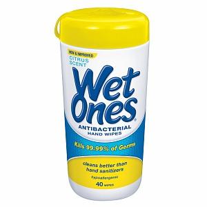 Wet Ones Antibacterial Hands Wipes