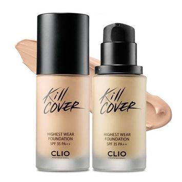 Clio Kill Cover Wear Foundation Makeup