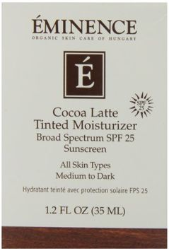Eminence Cocoa Latte Tinted Moisturizer Spf 25 (Medium To Dark)