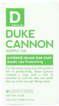 Duke Cannon Big American Brick of Soap - Smells Like Productivity