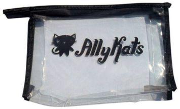AllyKats Branded Cosmetic Bag