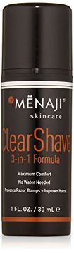 Mënaji Clear Shave 3-in-1 Formula